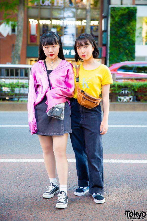 Harajuku Casual Streetwear Styles w/ Kinji, Chicago, Calvin Klein, Carhartt & Funktique Tokyo
