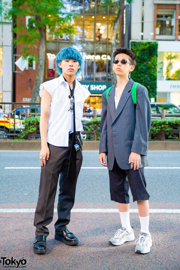 Harajuku Guys in Vintage & Handmade Streetwear w/ Subciety, Valentino, Moon Star, Foot The Coacher, Vaqueria & Comme des Garcons