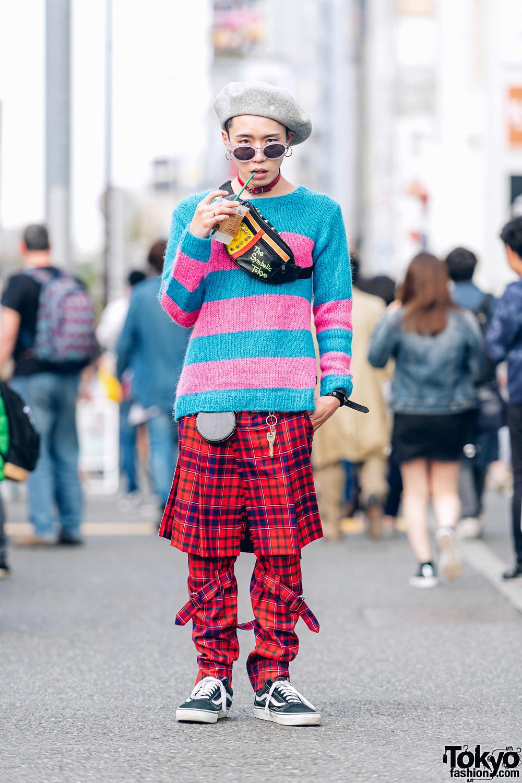 Mixed Prints Tokyo Streetwear w/ 666 Japan, The Symbolic Tokyo & BlackMeans