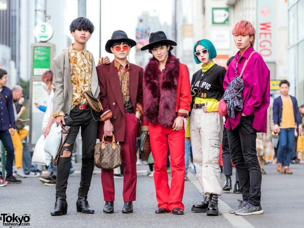 Harajuku Boys & Girls Handmade & Vintage Designer Street Styles