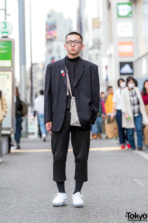e2720318e6c Japanese Men s Shoulder Pads Street Style w  Comme des Garcons
