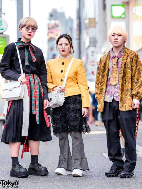 Tokyo Streetwear Styles w/ Demonia, Kinji, MYOB NYC, Kakavaka, Tokyo Bopper & Nike