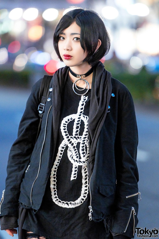 Goth Girl Harajuku Street Style W Noma Drug Honey