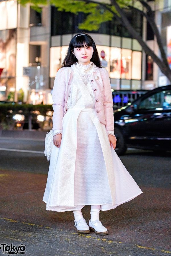 Harajuku Girl in Remake & Vintage Style w/ The Virgin Mary, Barrack Room, Memuse & Dr. Martens