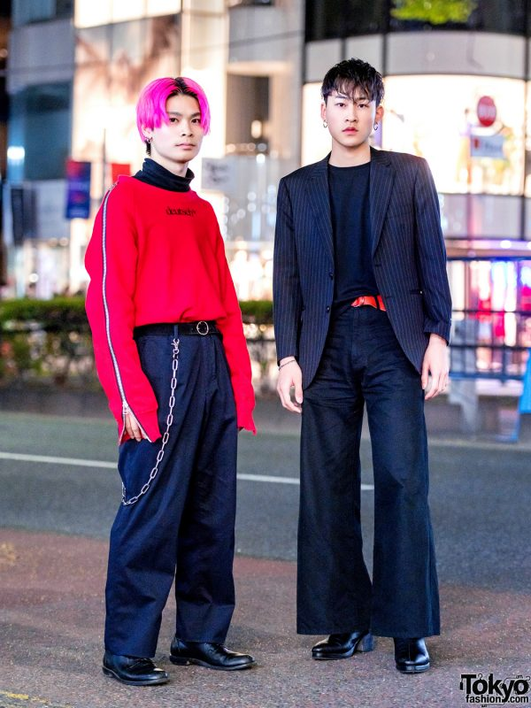 Harajuku Menswear Style w/ John Lawrence Sullivan, Burberry, Pierre Cardin, Ninety Four, Saint Laurent, Diesel & Gucci
