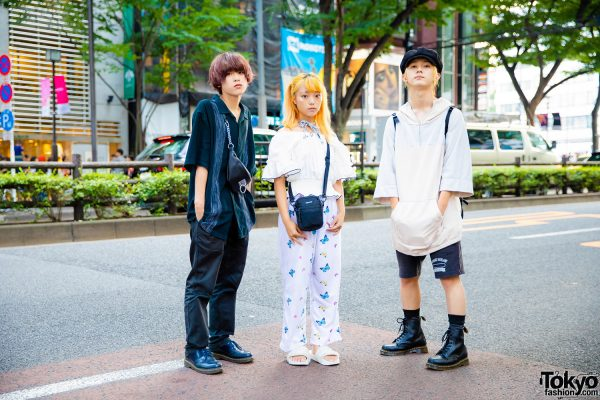 Harajuku Trio Streetwear Styles w/ Kinsella, Office Kiko, Never Mind the XU, Dr. Martens, Prada, & Puma x Fenty
