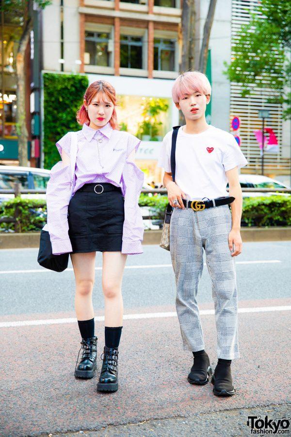 Harajuku Street Styles w/ Faith Tokyo, Ding, Bubbles, Mememi, Comme des Garcons, Balenciaga & Gucci