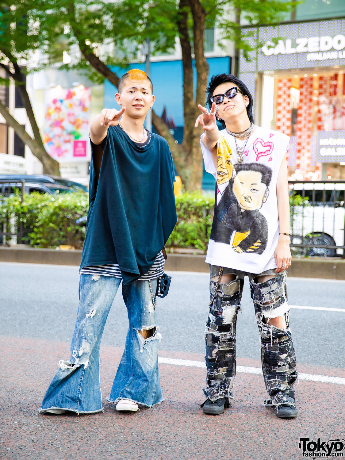 53f5ca60fbb2fc Harajuku Guys in Punk-Inspired Styles