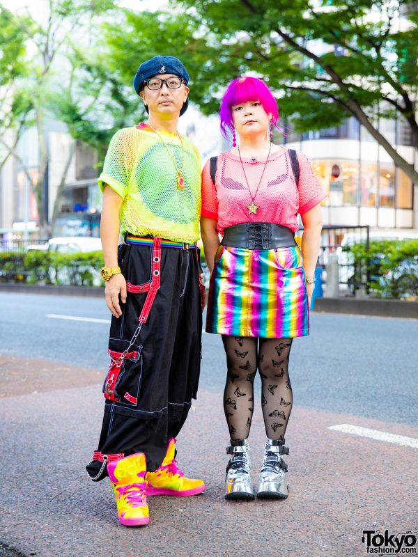 Colorful Tokyo Street Styles w/ Pinnap, Jeremy Scott, 6%DOKIDOKI, L.A. Blacklist, Gallerie, MCM, ESQAPE & Nincompoop Capacity