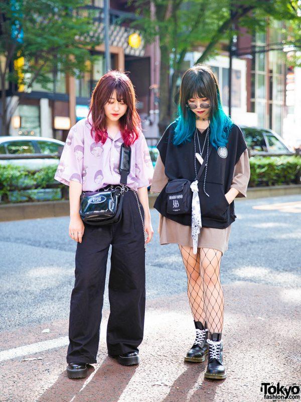 Harajuku Teen Streetwear Styles w/ Colorful Hair, Another Youth, FU•XU•RY, Faith Tokyo, 13Month & DYOG