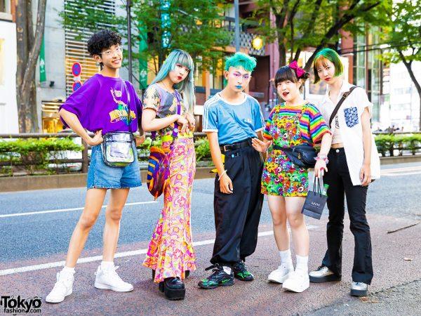 Harajuku Teen Vintage Streetwear w/ Pinnap, Peco Club, Mercari, Yosuke, Decotrand, 6%DOKIDOKI, ACDC, WC, Thank You Mart & Tokyo Bopper