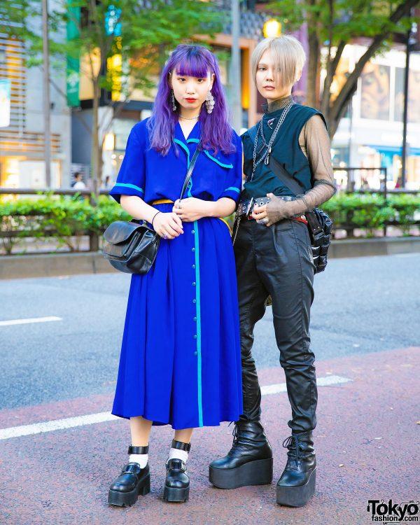 Japanese Vintage Street Styles w/ (Me), Pameo Pose, Tokyo Bopper & M.Y.O.B.