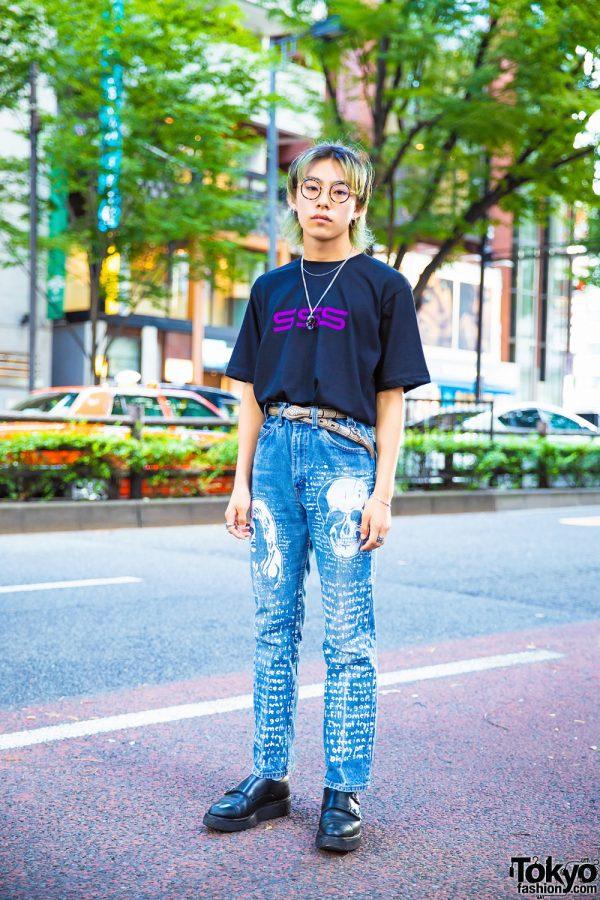 Tokyo Vintage Street Style w/ SSS World Corp, Foot The Coacher & Yohji Yamamoto