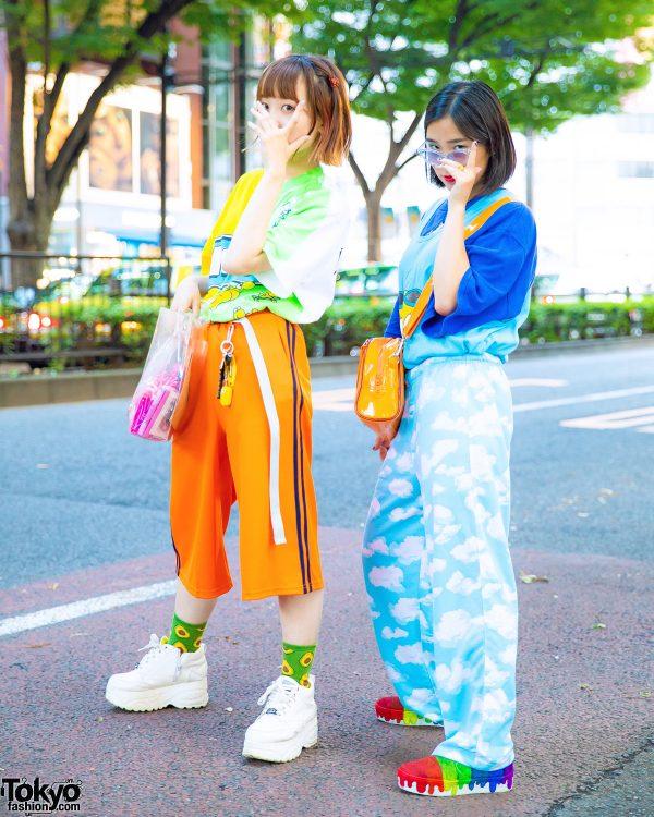 Harajuku Teens in Colorful Remake Street Style w/ Kiki2, Aymmy in the Batty Girls, NaNa-NaNa, Yosuke, One W Oh, OK, Little Sunny Bite & Kobinai