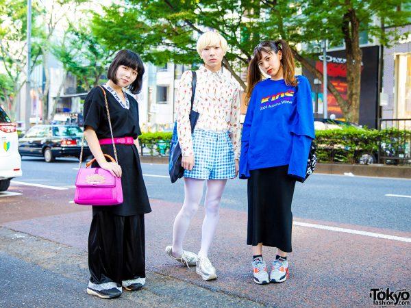 Harajuku Street Styles w/ Pop Idol Yukkyun, Vannie Tokyo, X-Girl, Nike, Milkboy, River Island, WeWork & Dairiku