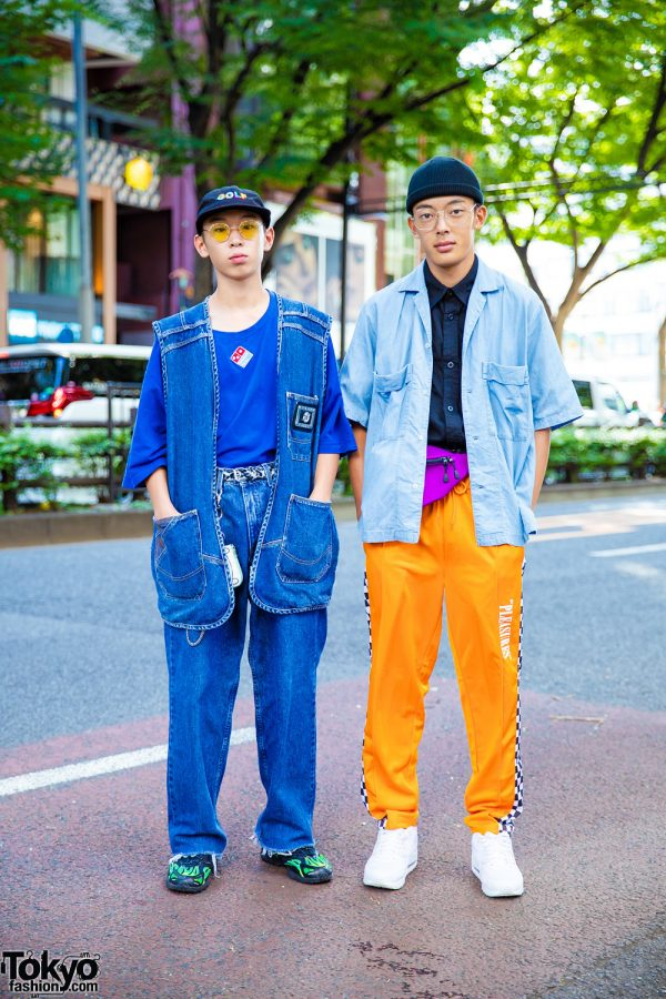 Harajuku Guys' Streetwear w/ Banny Store, Domino's Pizza T-Shirt, Supreme, Pleasures, XLarge, Nike & Adventure Time