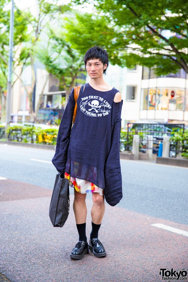 Harajuku Guy in Vivienne Westwood World's End Street Style