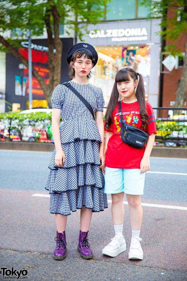 Harajuku Streetwear Styles w/ GVGV, Dr. Martens, Pameo Pose, Milkfed, Chicago Harajuku, RRR Vintage, Spinns & Tokyo Bopper