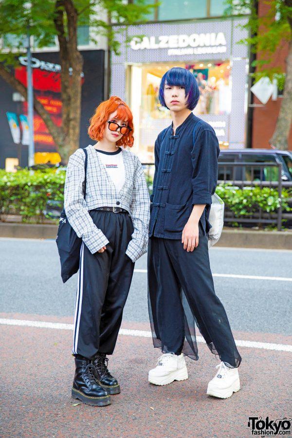 Monochrome Harajuku Street Styles w/ Who's Who Gallery, Dr. Martens, No Eyedia, Jouetie, Shonen Junk & Yosuke