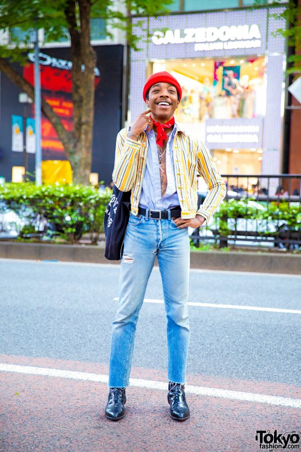 Fashion Designer's Vintage Street Style w/ Hysteric Glamour, Big Love Records, Saint Laurent & Oz Harajuku