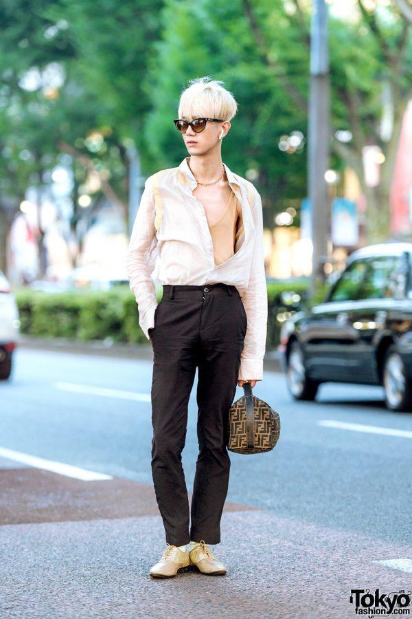 Harajuku Designer in Alexander McQueen, Fendi, Dsquared2 & Maison Margiela