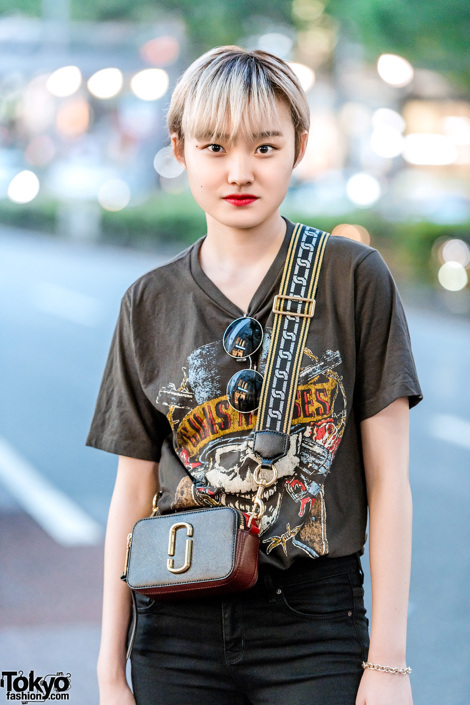 All Black Harajuku Street Style W Tiffany Amp Co Guns N