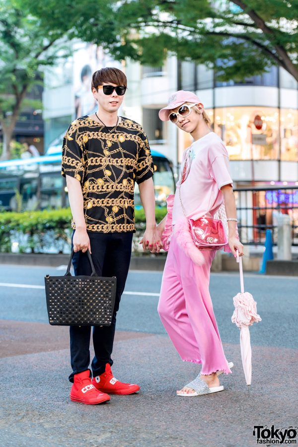 Japanese Gay Couple in Harajuku w/ WC, LHP, Vivienne Westwood, MiracleCom & Himitsu No Miko