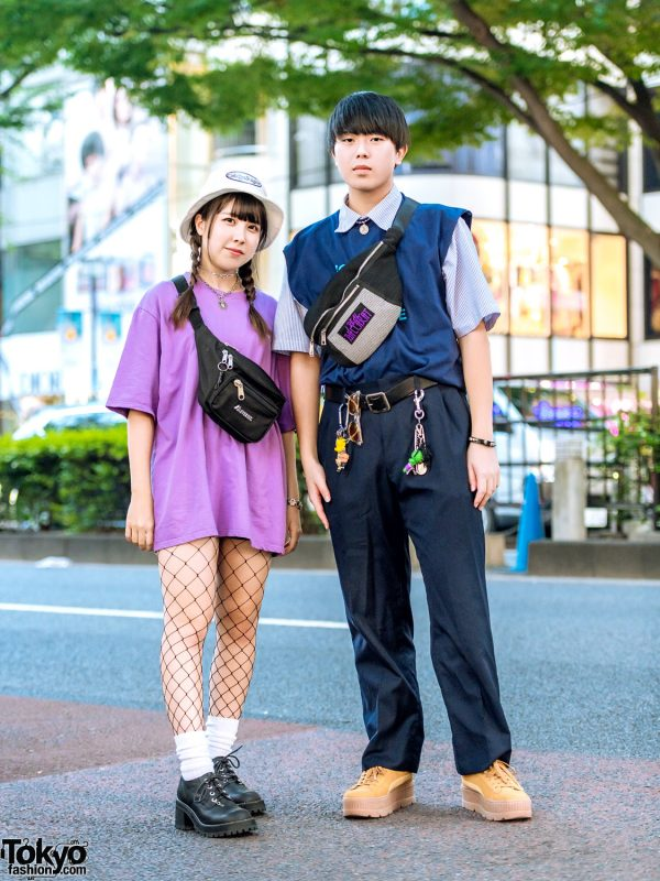 Layered Harajuku Street Styles w/ A'gem, Nadia, UNIF, Faith Tokyo, Ships, Calvin Klein, Another Youth & Puma x Fenty Creepers