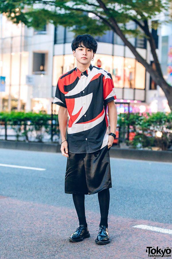 Harajuku Designer Street Fashion w/ Alexander McQueen, Prada, Hermes, Comuse & Kujaku