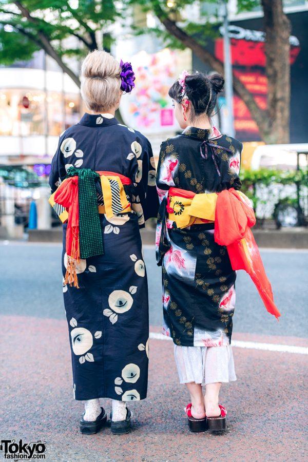 Yukata Street Styles In Harajuku W Mamechiyo Modern