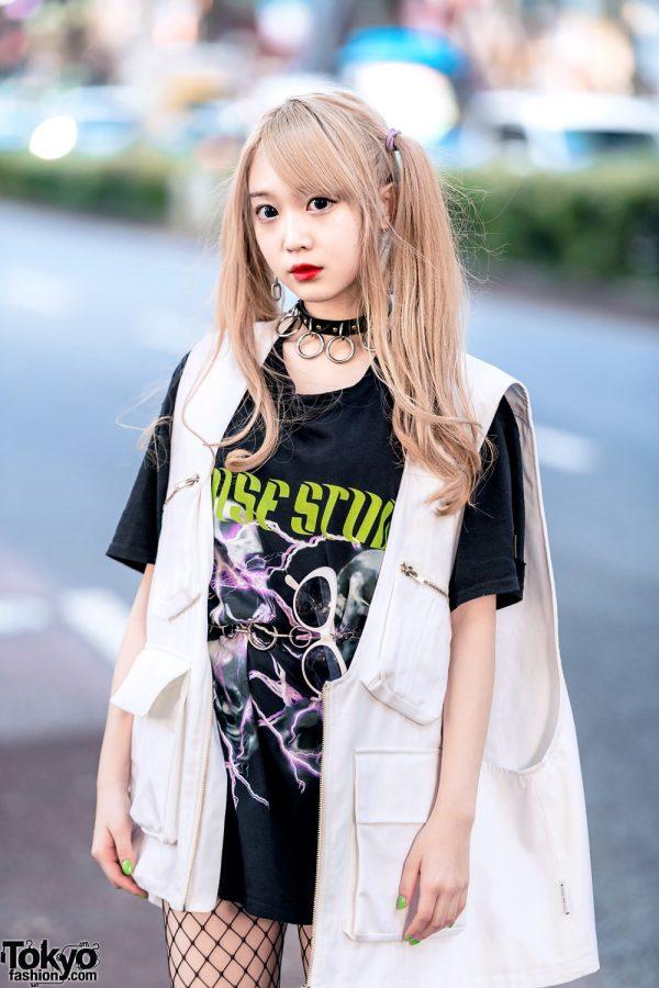 Twin Tailed Harajuku Model Street Style W Ajo Ajobyajo