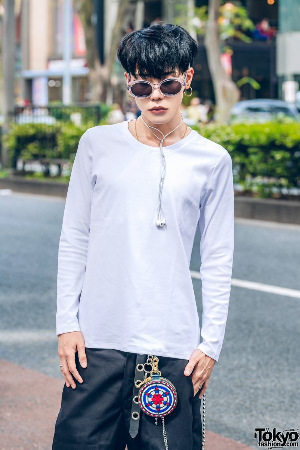 Symbolic Tokyo Fashion Designer In Casual Streetwear Style