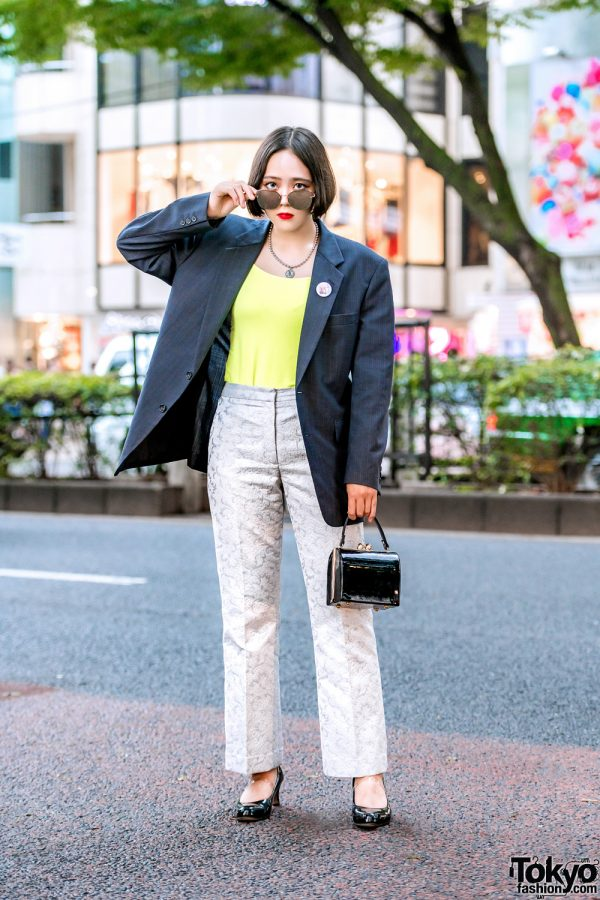 Harajuku Vintage Blazer & Pants w/ Funktique Tokyo & Another Youth