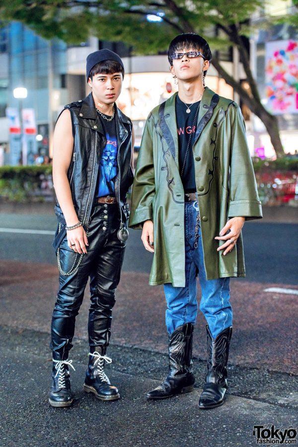Tokyo Vintage Streetwear Styles w/ Vivienne Westwood, H&M, Dr. Martens, Biba & John Lawrence Sullivan
