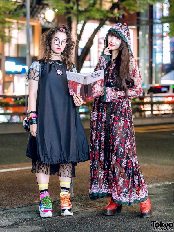 Harajuku Street Styles w/ Handmade Balloon Dress, Murral Lace Dress, Codona De Moda, Mikio Sakabe & Nude Trump