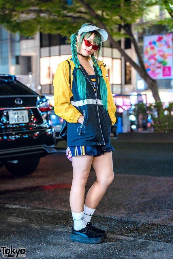Harajuku Remake & Vintage Sporty Chic Street Fashion w/ Kinji, The Four-Eyed, Head & Fenty x Puma