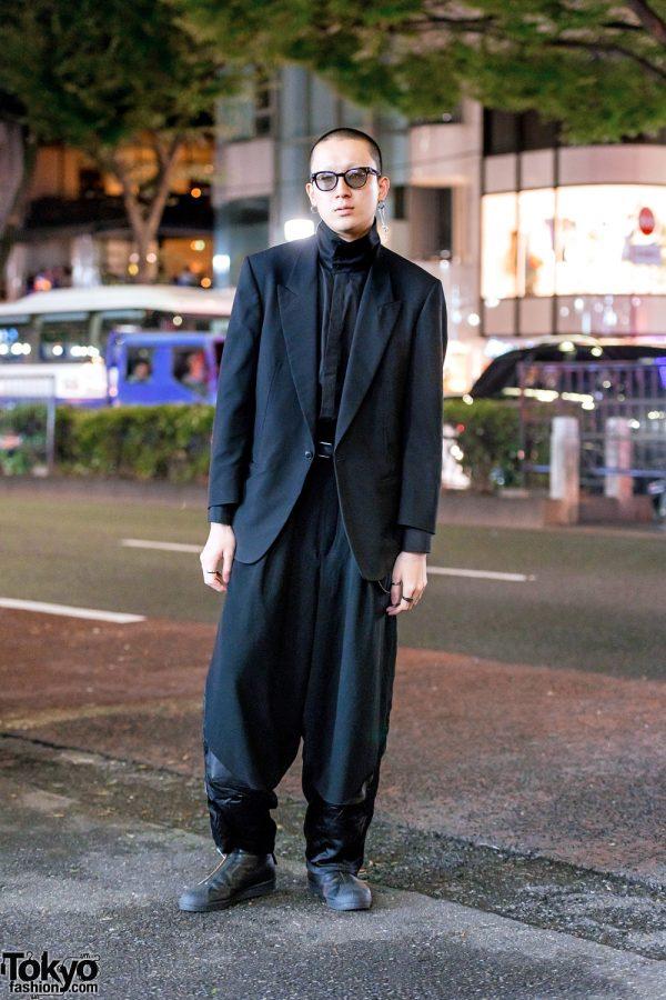 Minimalist Japanese Street Style w/ Y's For Men, Yohji Yamamoto & Soshi Otsuki