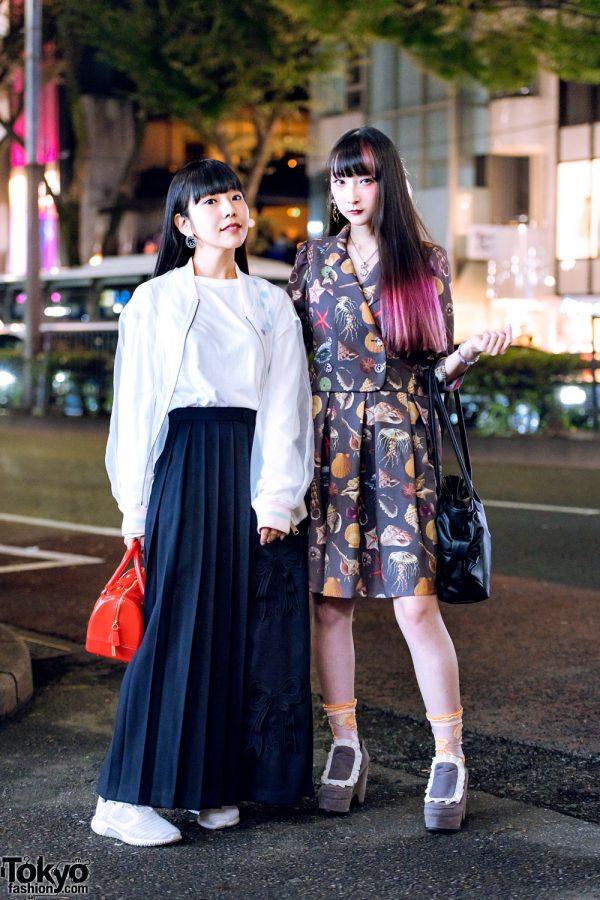 Risa Aizawa & RinRin Doll in Harajuku w/ Mikio Sakabe, Pays Des Fees, lilLilly, Milk, Vivienne Westwood & Shiho Tabei