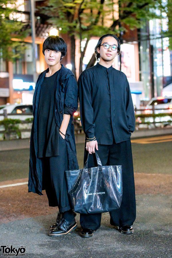 Tokyo All Black Vintage & Handmade Streetwear Styles w/ Yohji Yamamoto & Comme des Garcons