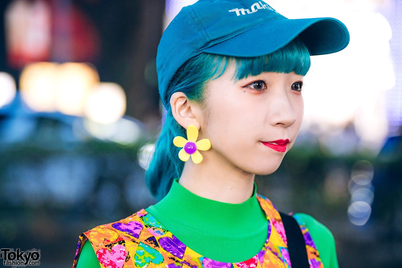 Colorful Harajuku Street Fashion W Kinji Vintage
