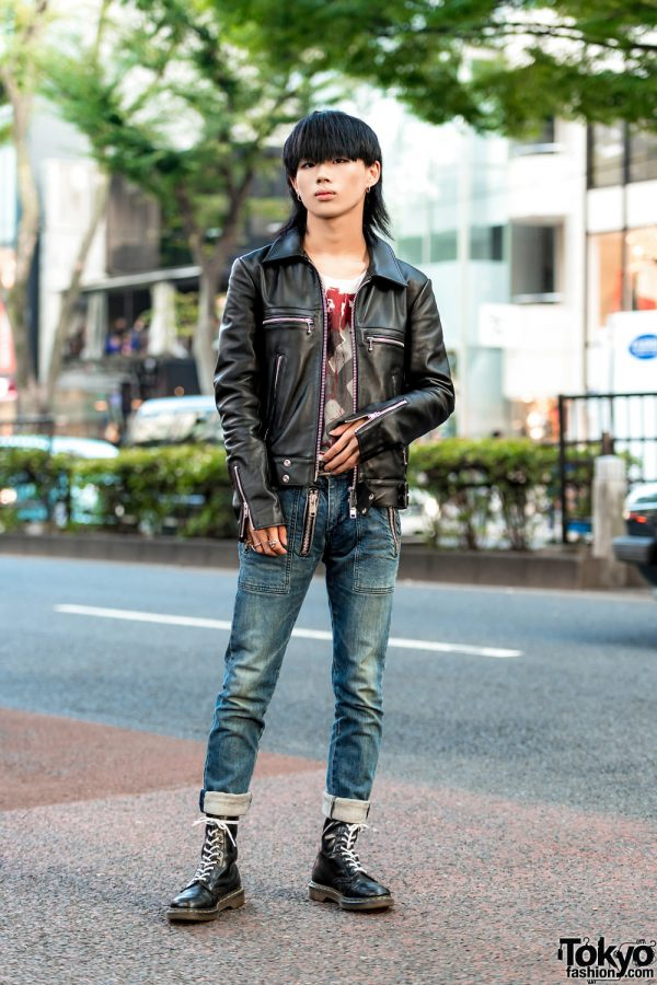 Punk Inspired Tokyo Streetwear Style w/ 99%IS-, 666, Dr. Martens & Tokyo Human Experiments
