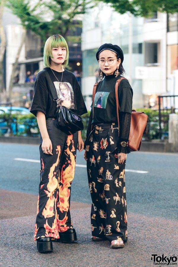 Japanese Street Fashion Styles w/ Never Mind the XU, Kaka Vaka, Vivienne Westwood, Demonia, DYOG, Masaki Suda Play, Me%, Ellecy & Frapbois