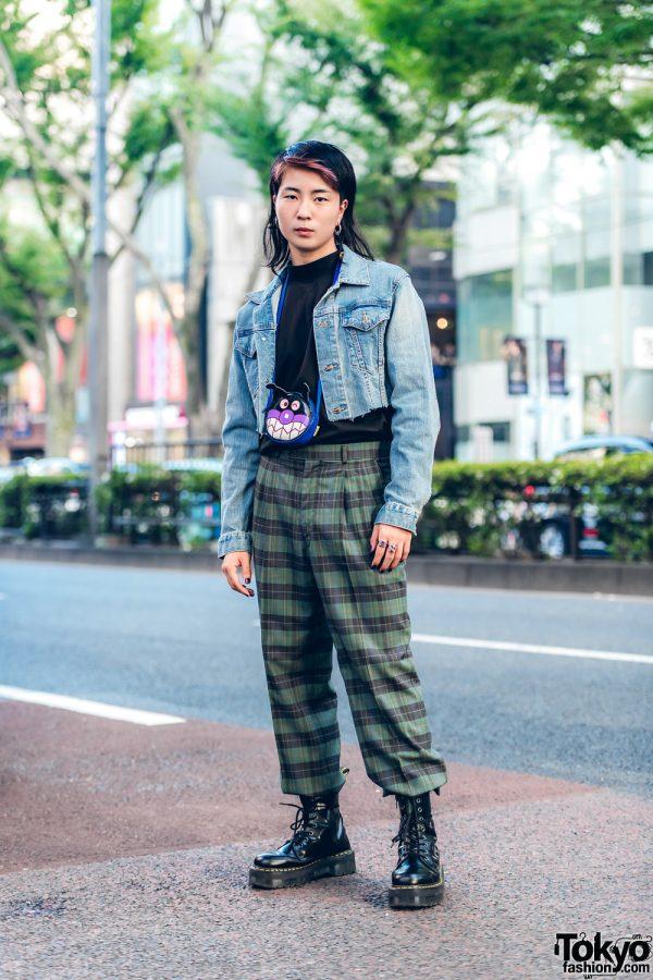 Harajuku Guy in Vintage & Handmade Streetwear Style
