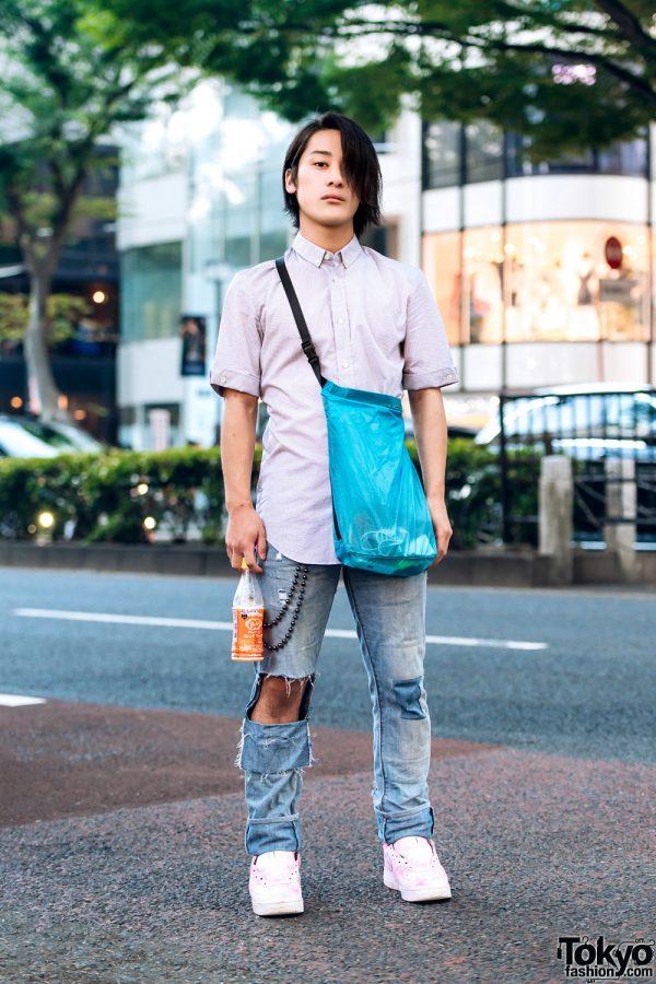 Tokyo Streetwear Style w/ Maison Margiela, Levi's & Nike