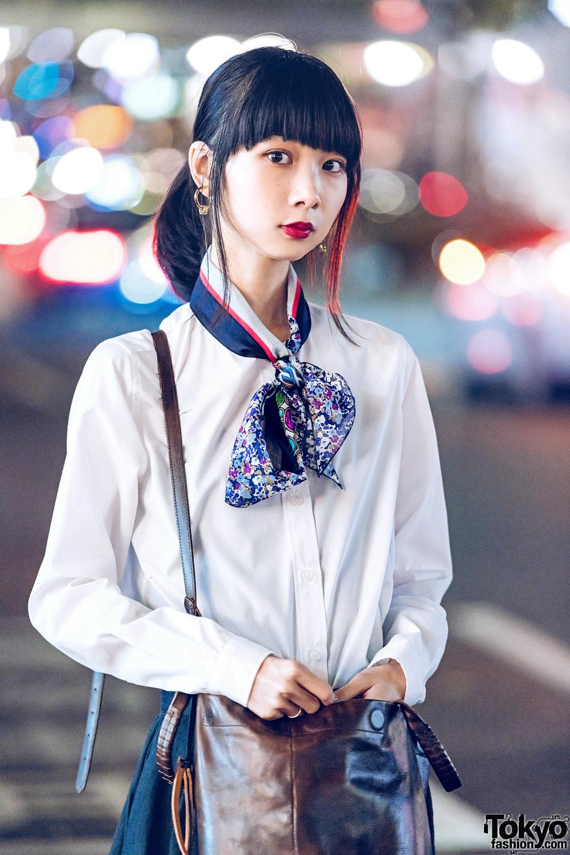 Minimalist Japanese Street Style w/ Yohji Yamamoto, Kolor, United Nude Sandals & Cornelian Taurus Handbag
