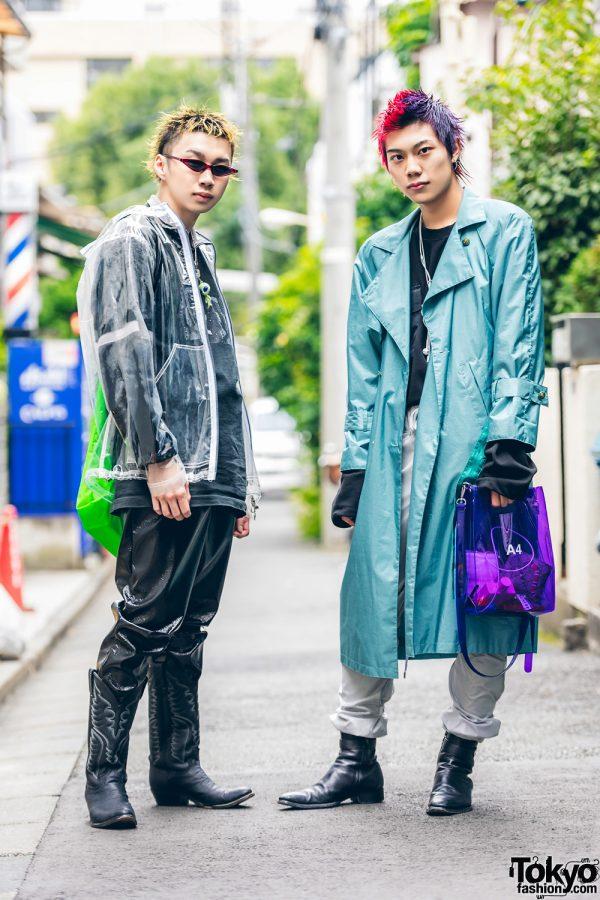 Harajuku Street Styles w/ Clear Jacket, Oh Pearl, Banny Store, Cowboy Boots, Never Mind the XU, Avalone, Gucci, NaNa-NaNa & BDKMV Tokyo