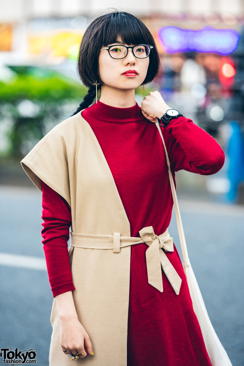 0fbb45aeeb4 Glico lists Comme des Garcons and Sokkyou as her fashion favorites