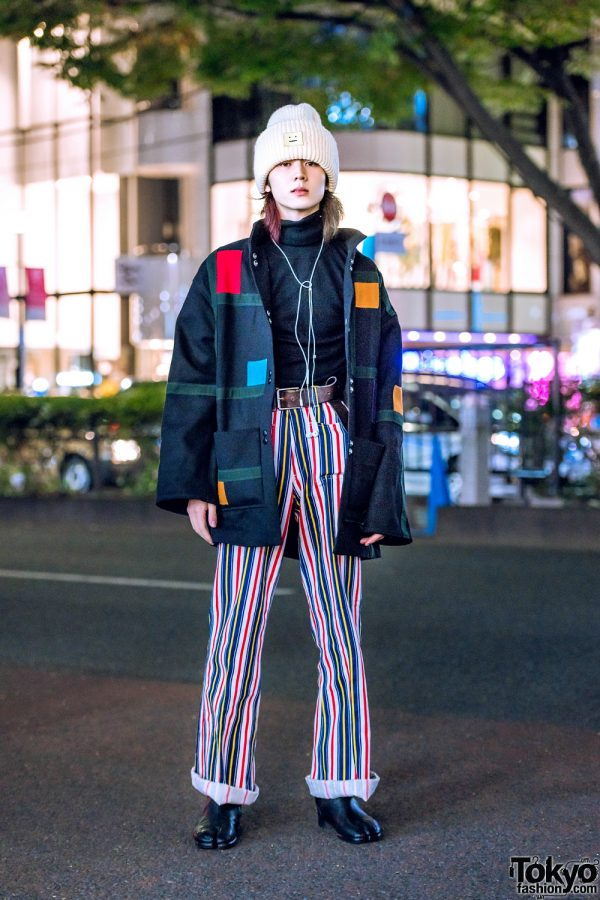 Harajuku Menswear Street Style w/ Muji, Maison Margiela, Vintage Fashion & Acne Studios