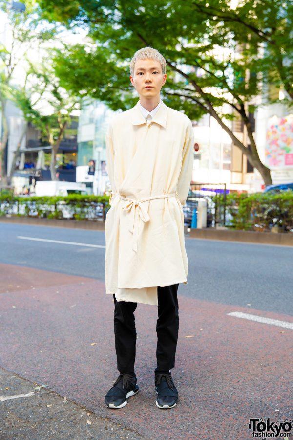 Japanese Hair Stylist w/ Ethosens Tunic, Uniqlo Pants & Y-3 Sneakers