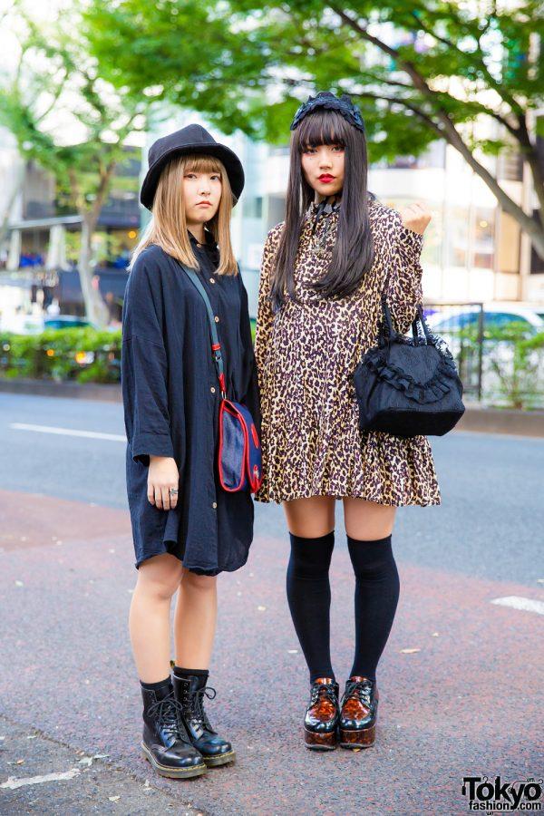 Chic Harajuku Street Styles w/ Cayhane, H&M, Dr. Martens, Hunting World, Never Mind the XU & Bodyline Headdress
